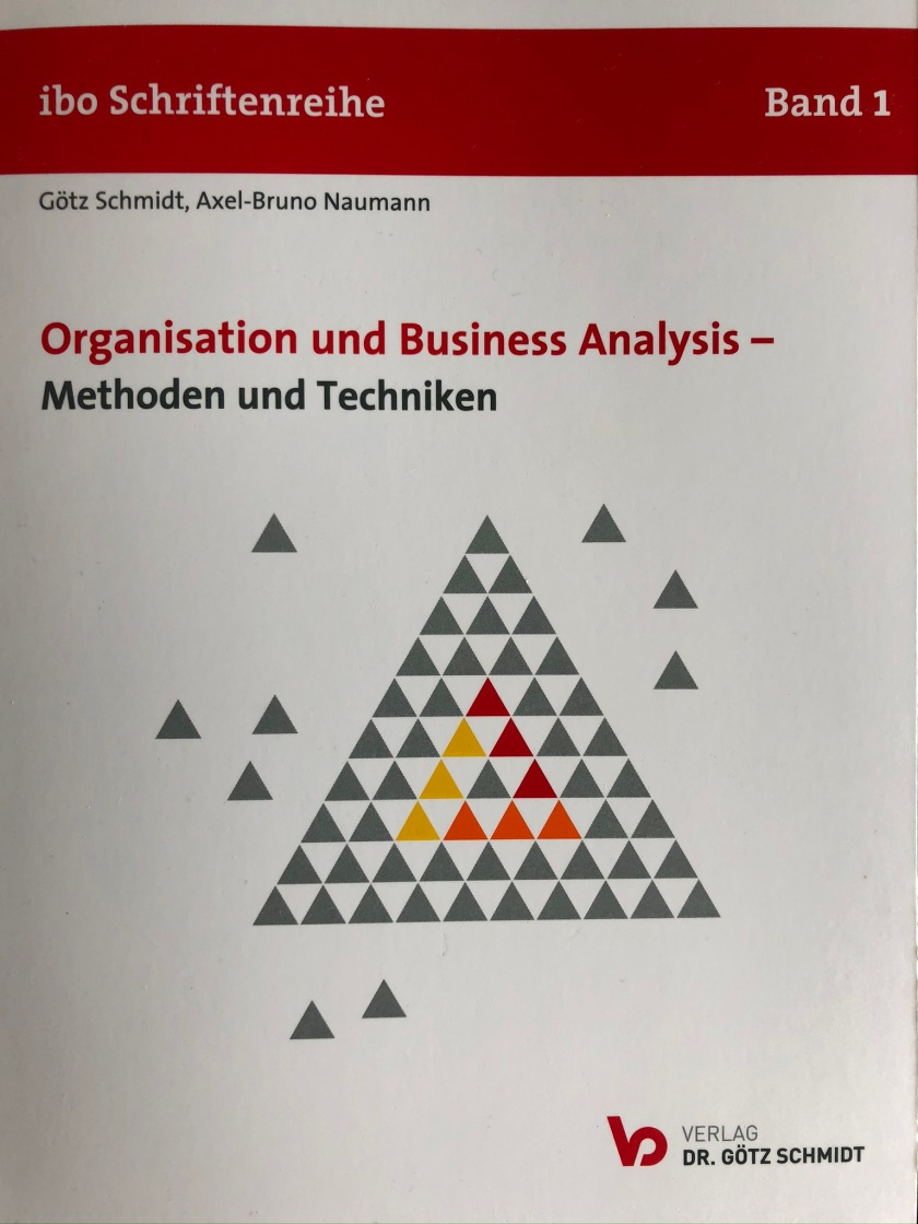 "Cover von ""Organisation und Business Analysis"""